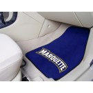 "Marquette Golden Eagles 27"" x 18"" Auto Floor Mat (Set of 2 Car Mats)"