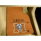 "Mercer (Atlanta) Bears 27"" x 18"" Auto Floor Mat (Set of 2 Car Mats)"