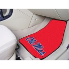 "Mississippi (Ole Miss) Rebels 27"" x 18"" Auto Floor Mat (Set of 2 Car Mats)"