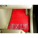 """Las Vegas (UNLV) Runnin' Rebels 27"""" x 18"""" Auto Floor Mat (Set of 2 Car Mats)"""