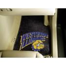 "Western Illinois Leathernecks 27"" x 18"" Auto Floor Mat (Set of 2 Car Mats)"