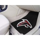 """Atlanta Falcons 27"""" x 18"""" Auto Floor Mat (Set of 2 Car Mats)"""