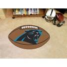 """22"""" x 35"""" Carolina Panthers Football Mat"""