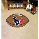 """22"""" x 35"""" Houston Texans Football Mat"""