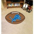 """22"""" x 35"""" Detroit Lions Football Mat"""