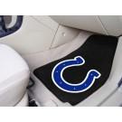 """Indianapolis Colts 27"""" x 18"""" Auto Floor Mat (Set of 2 Car Mats)"""