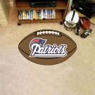 "22"" x 35"" New England Patriots Football Mat"
