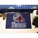 """New England Patriots 19"""" x 30"""" Starter Mat"""