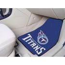 """Tennessee Titans 27"""" x 18"""" Auto Floor Mat (Set of 2 Car Mats)"""