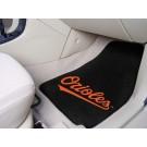 "Baltimore Orioles 27"" x 18"" Auto Floor Mat (Set of 2 Car Mats)"