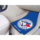 "Toronto Blue Jays 27"" x 18"" Auto Floor Mat (Set of 2 Car Mats)"