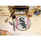 "27"" Round Chicago White Sox Baseball Mat"