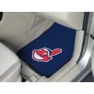 "Cleveland Indians 27"" x 18"" Auto Floor Mat (Set of 2 Car Mats)"