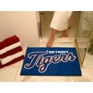 "34"" x 45"" Detroit Tigers All Star Floor Mat"