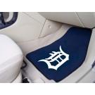 """Detroit Tigers 27"""" x 18"""" Auto Floor Mat (Set of 2 Car Mats)"""