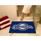 """34"""" x 45"""" Milwaukee Brewers All Star Floor Mat"""