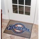 """Milwaukee Brewers 19"""" x 30"""" Starter Mat"""