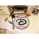 "27"" Round Arizona Diamondbacks Baseball Mat"