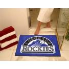 "34"" x 45"" Colorado Rockies All Star Floor Mat"