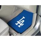 """Los Angeles Dodgers 27"""" x 18"""" Auto Floor Mat (Set of 2 Car Mats)"""