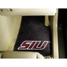 "Southern Illinois Salukis 27"" x 18"" Auto Floor Mat (Set of 2 Car Mats)"
