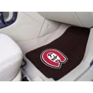 """St. Cloud State Huskies 27"""" x 18"""" Auto Floor Mat (Set of 2 Car Mats)"""