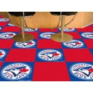 "Toronto Blue Jays 18"" x 18"" Carpet Tiles (Box of 20)"