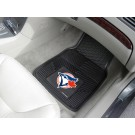 "Toronto Blue Jays 18"" x 27"" Heavy Duty 2-Piece Vinyl Car Mat Set"