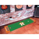 "Houston Astros 18"" x 72"" Putting Green Runner"