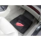 "Detroit Red Wings 18"" x 27"" Heavy Duty Vinyl Auto Floor Mat (Set of 2 Car Mats)"