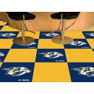 "Nashville Predators 18"" x 18"" Carpet Tiles (Box of 20)"