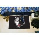 """Minnesota Timberwolves 19"""" x 30"""" Starter Mat"""