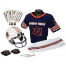 Franklin Auburn Tigers DELUXE Youth Helmet and Football Uniform Set (Small)