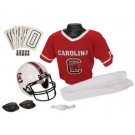 Franklin South Carolina Gamecocks DELUXE Youth Helmet and Football Uniform Set (Small)