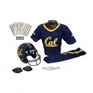 Franklin California (UC Berkeley) Golden Bears DELUXE Youth Helmet and Football Uniform Set (Small)