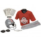 Franklin Ohio State Buckeyes DELUXE Youth Helmet and Football Uniform Set (Medium)