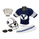 Franklin Brigham Young (BYU) Cougars DELUXE Youth Helmet and Football Uniform Set (Medium)