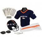 Franklin Denver Broncos DELUXE Youth Helmet and Football Uniform Set (Small)