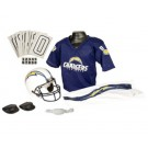 Franklin San Diego Chargers DELUXE Youth Helmet and Football Uniform Set (Small)