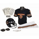 Franklin Chicago Bears DELUXE Youth Helmet and Football Uniform Set (Medium)