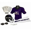 Franklin Baltimore Ravens DELUXE Youth Helmet and Football Uniform Set (Medium)