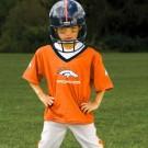 Franklin Denver Broncos DELUXE Youth Helmet and Football Uniform Set (Medium)