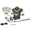 Franklin New York Jets DELUXE Youth Helmet and Football Uniform Set (Medium)