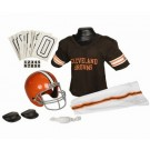Franklin Cleveland Browns DELUXE Youth Helmet and Football Uniform Set (Medium)
