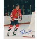 "Stan Mikita Autographed 8"" x 10"" Photograph (Unframed)"