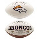 Denver Broncos Limited Edition Embroidered Signature Series Football from Fotoball