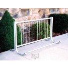 5' Modern Single-Sided Bike Rack (Holds 4 Bikes)