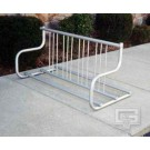 5' Traditional Double-Sided Bike Rack (Holds 8 Bikes)