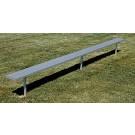 8' Permanent Aluminum Bench