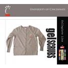 Cincinnati Bearcats Scrub Style Nursing Jacket from GelScrubs (Black Small)